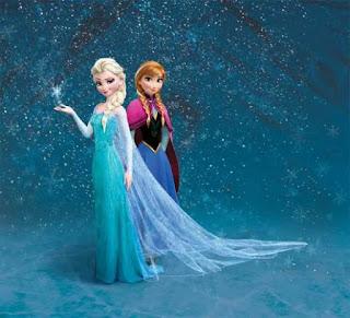 Gambar Elsa dan Anna Frozen wallpaper 7