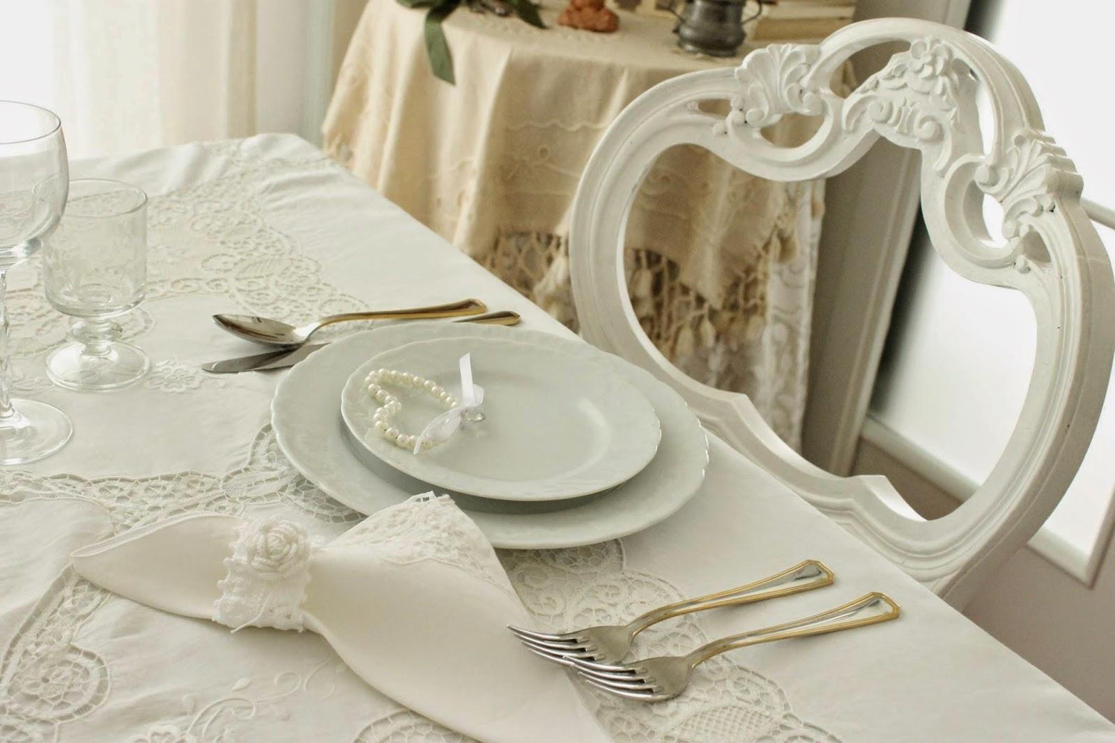 Matrimonio Shabby Chic Total White : Tra sogni e realtà shabby chic tavola total white