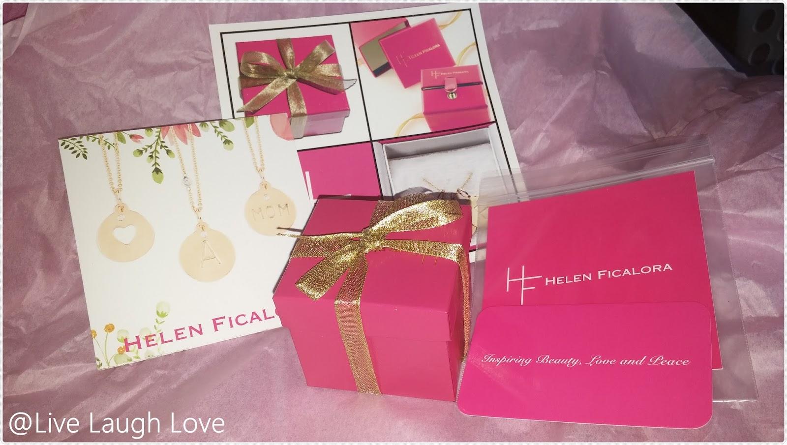 Live Laugh Love Helen Ficalora Review