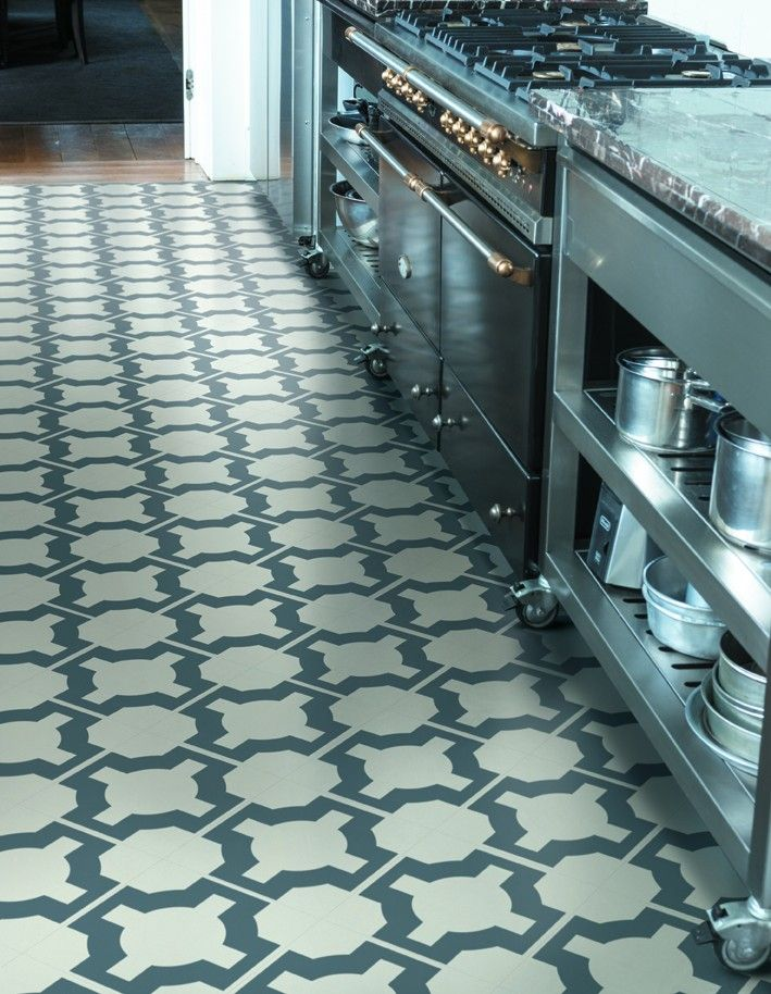 Full catalog of vinyl flooring options for kitchen and for Patterned linoleum tiles