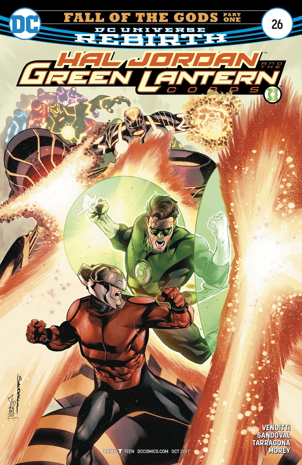 Hal Jordan & the Green Lantern Corps: Rebirth issue 26 - Page 1