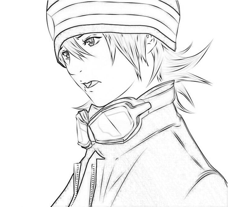 printable-air-gear-mikan-noyamano-character_coloring-pages-1