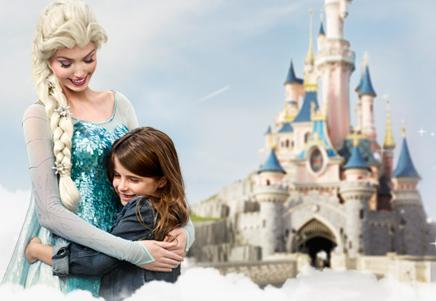 Familias numerosas en Disneyland París