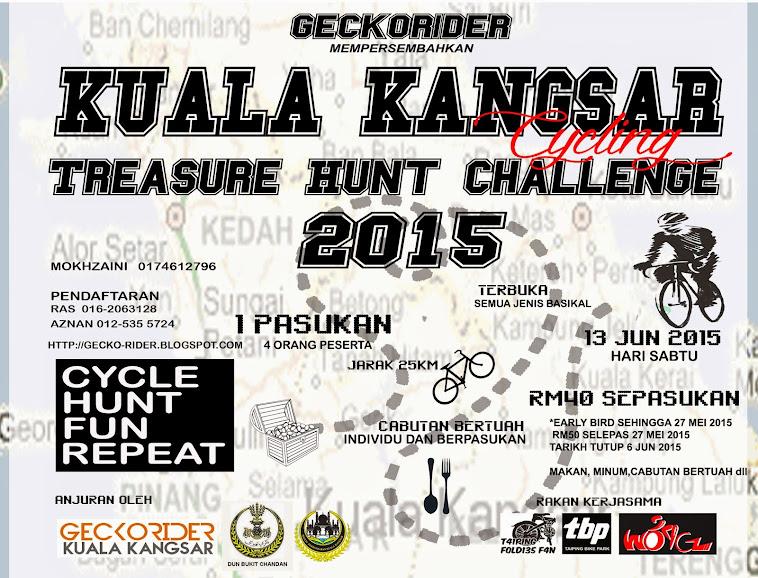 Geckorider's Cycle At Night Kuala Kangsar