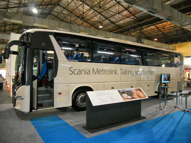 Luxury Scania Buses in India
