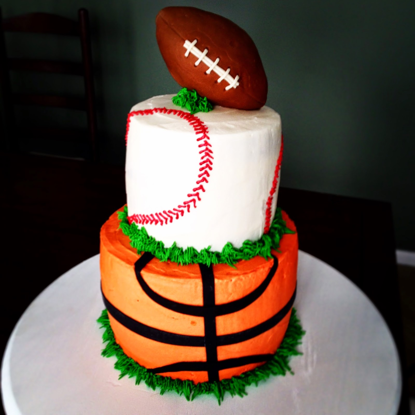 Sports Ball Birthday Cake jadore gteau