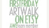 First Friday Art Walk on Etsy