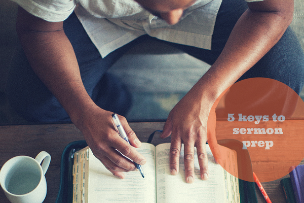 5 Keys To Sermon Prep That Will Bring Power To The Pulpit ~ Ministry Best Practices