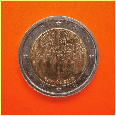 2 Euros España 2010 Mezquita Córdoba