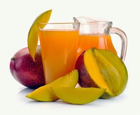 foto del jugo de mango