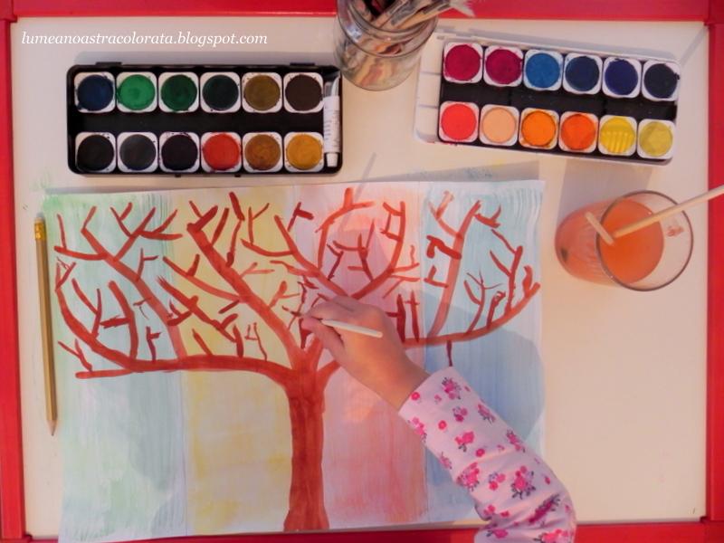 Pictăm copacul Anotimpurilor