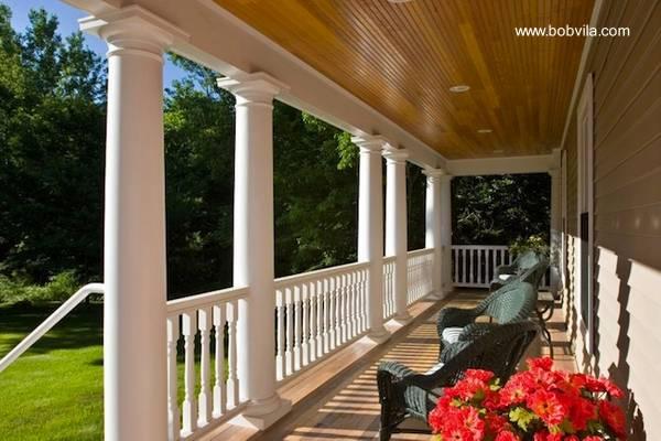 Arquitectura de casas un porche personalizado da encanto - Casas con porche ...