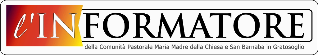 blog Comunità Pastorale Maria Madre della Chiesa e San Barnaba in Gratosoglio a Milano