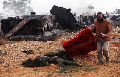 soldados muertos en libia