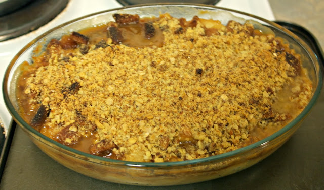 toffee apple crumble recipe
