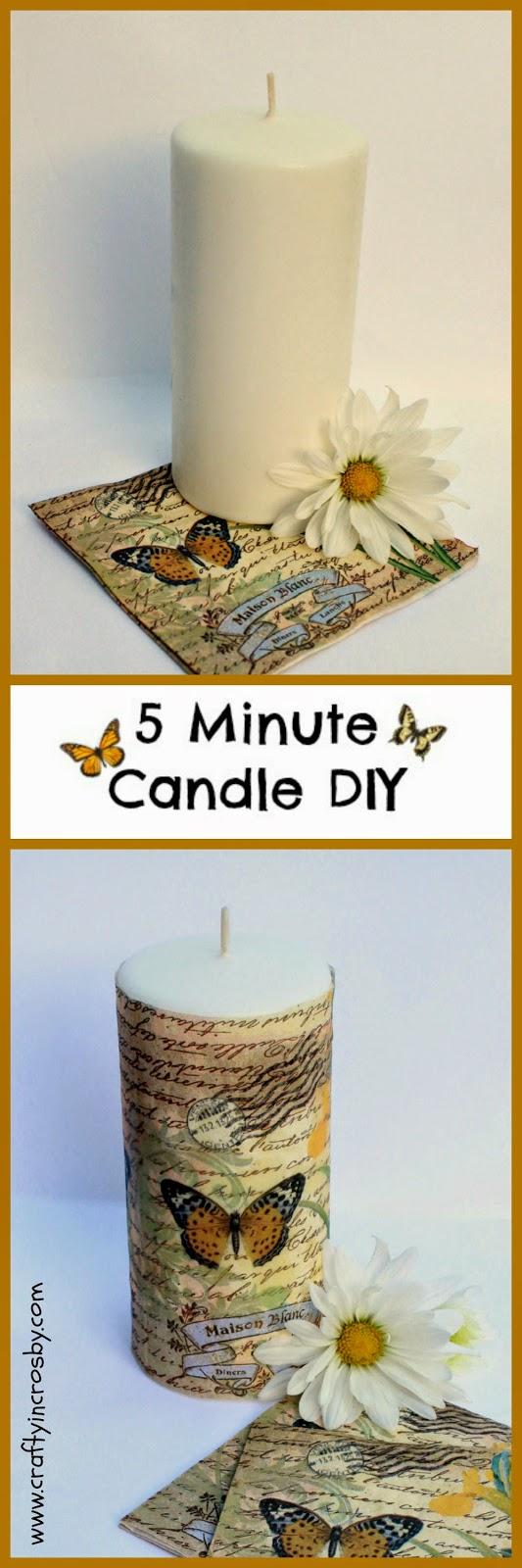 candle diy, designer candle diy, candle hack, candle decoration, Dollar Tree