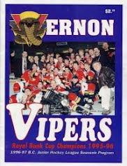 Vernon Vipers 1996-97 Program