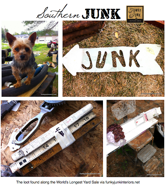 A mind blowing photo collection of southern junk from the World's Longest Yard Sale via Funky Junk Interiors. warning: photo heavy!
