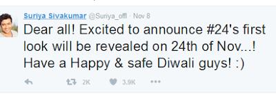 Surya_Tweet-On-Firstlook-of-24