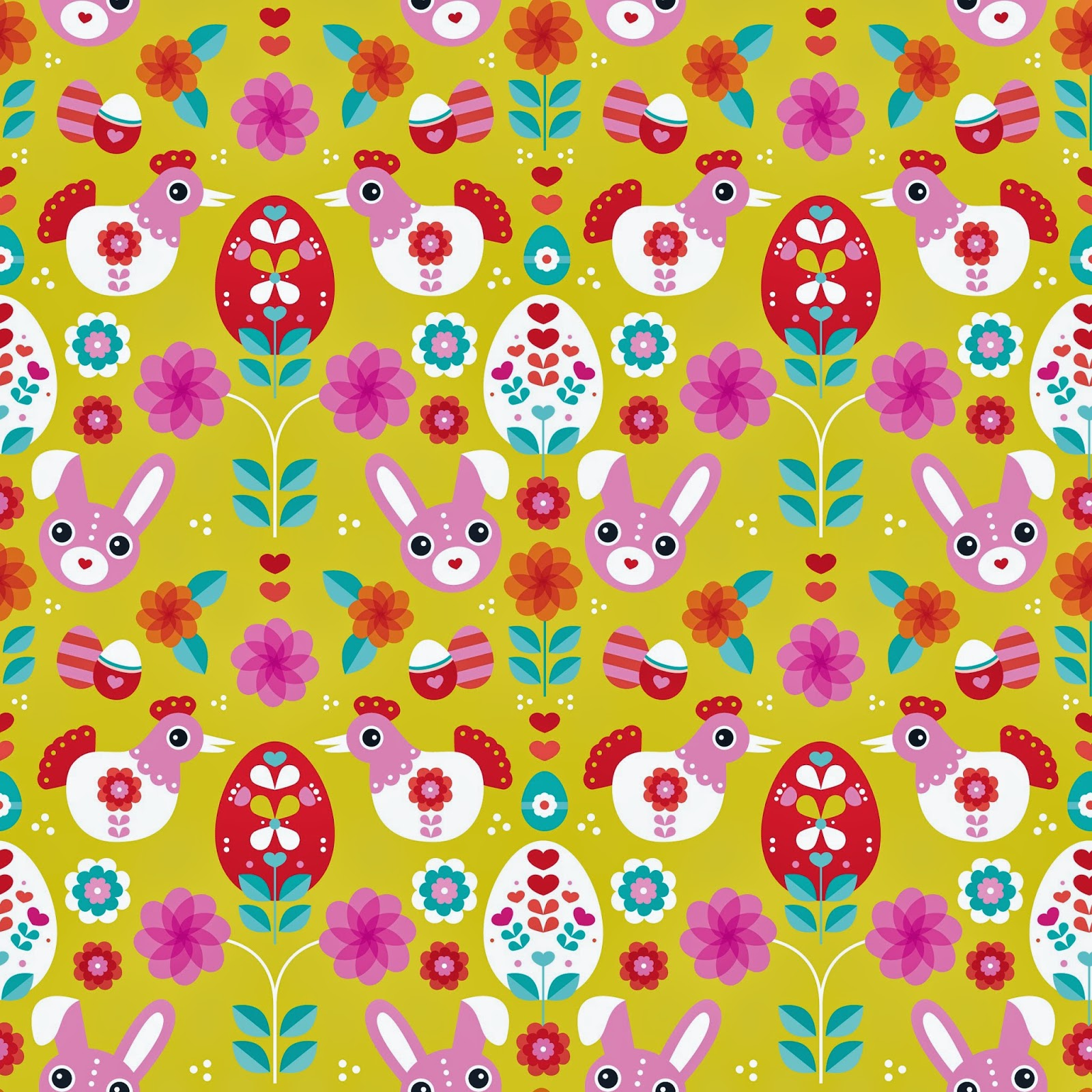 Printable bunny wrapping paper craftbnb free printable wrapping paper negle Images
