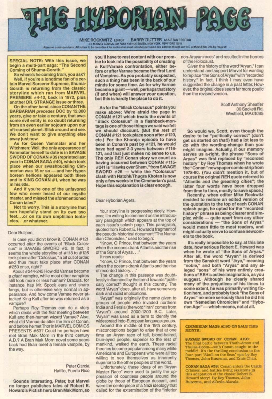 Conan the Barbarian (1970) Issue #252 #264 - English 24