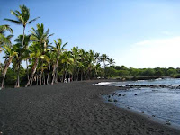 Beautiful beaches in the world,Punalu'u Beach, Hawaii