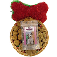 dog gift basket