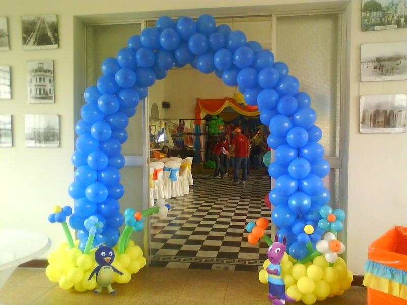 Ideas de decoracin de fiestas infantiles de winnie the for Decoracion winnie pooh para fiesta infantil