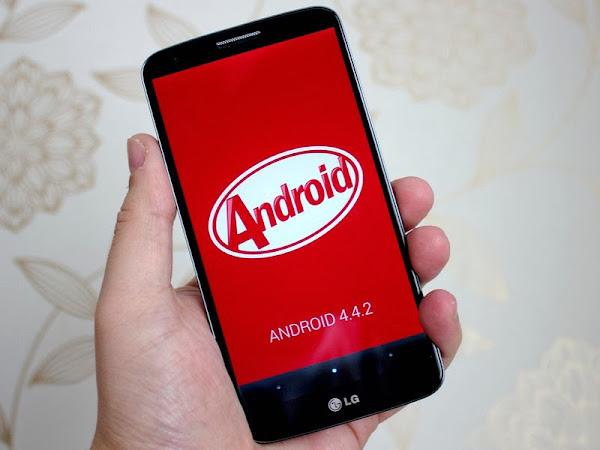 LG G2 running Android 4.4.2 KitKat