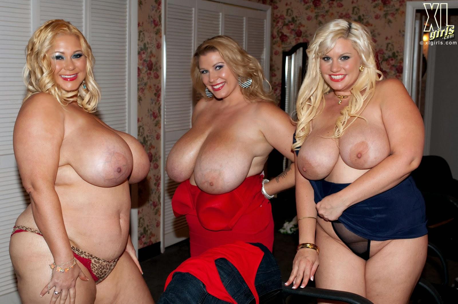 Шоу голых толстушек 5 фотография
