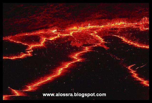 صور بركان 2019 بركان جنب البحر صور البراكين نشطة ايسلندا