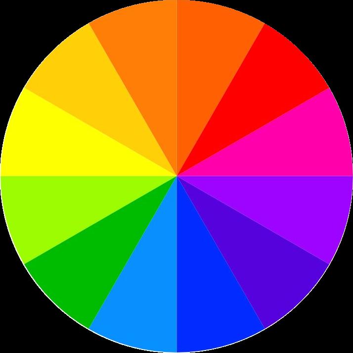 Christmas Tree Color Wheel