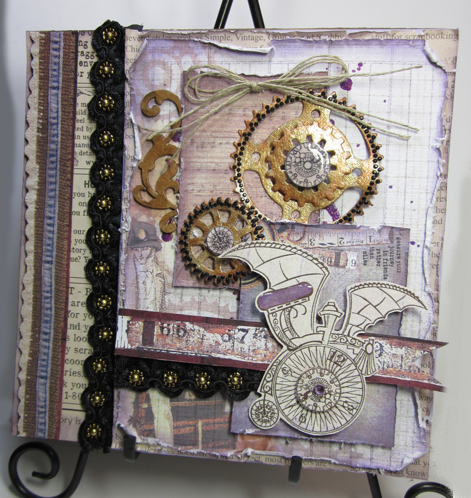 Sakura hobby crafts steampunk canvas for Steampunk arts and crafts
