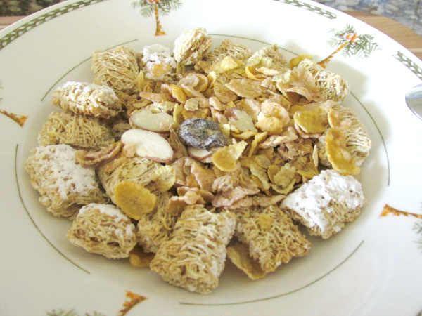 Oat Clusters with Cherries & Almonds & Frosted Shredded Wheat with Protein - weightwatchers