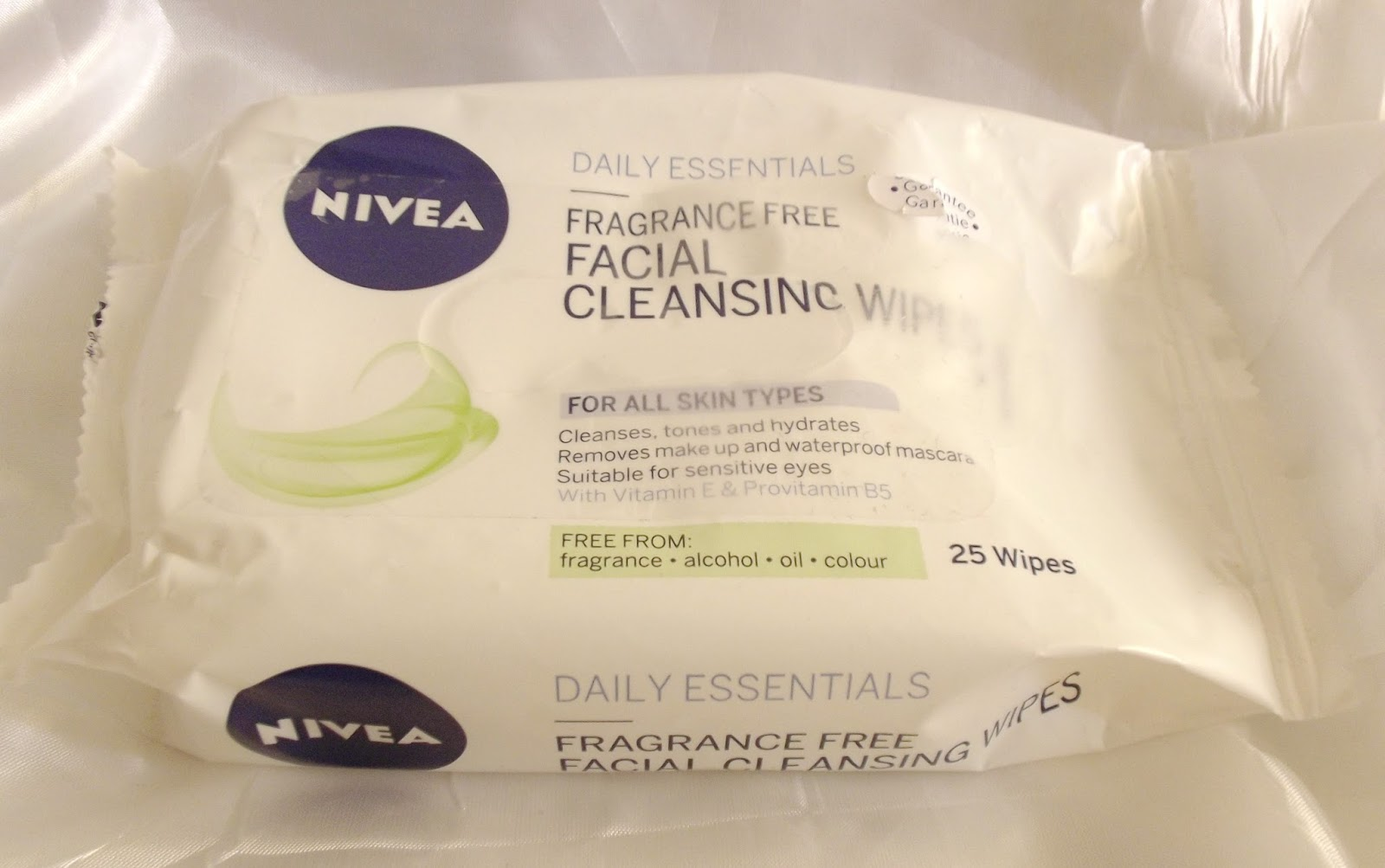 nivea face wipes
