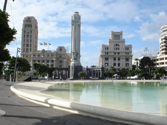 La Plaza de España en Santa Cruz de Tenerife
