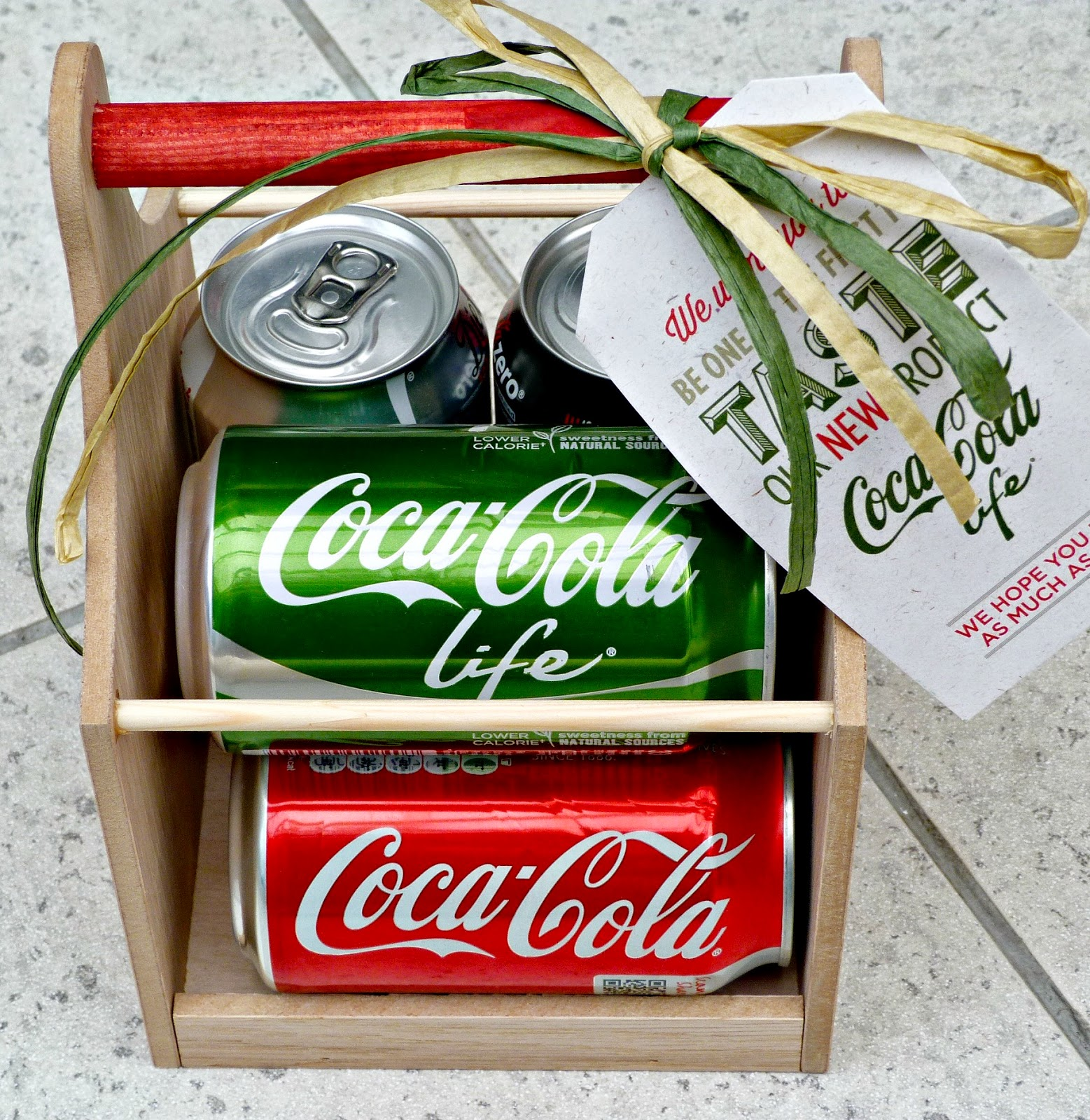 Coca-cola Life review