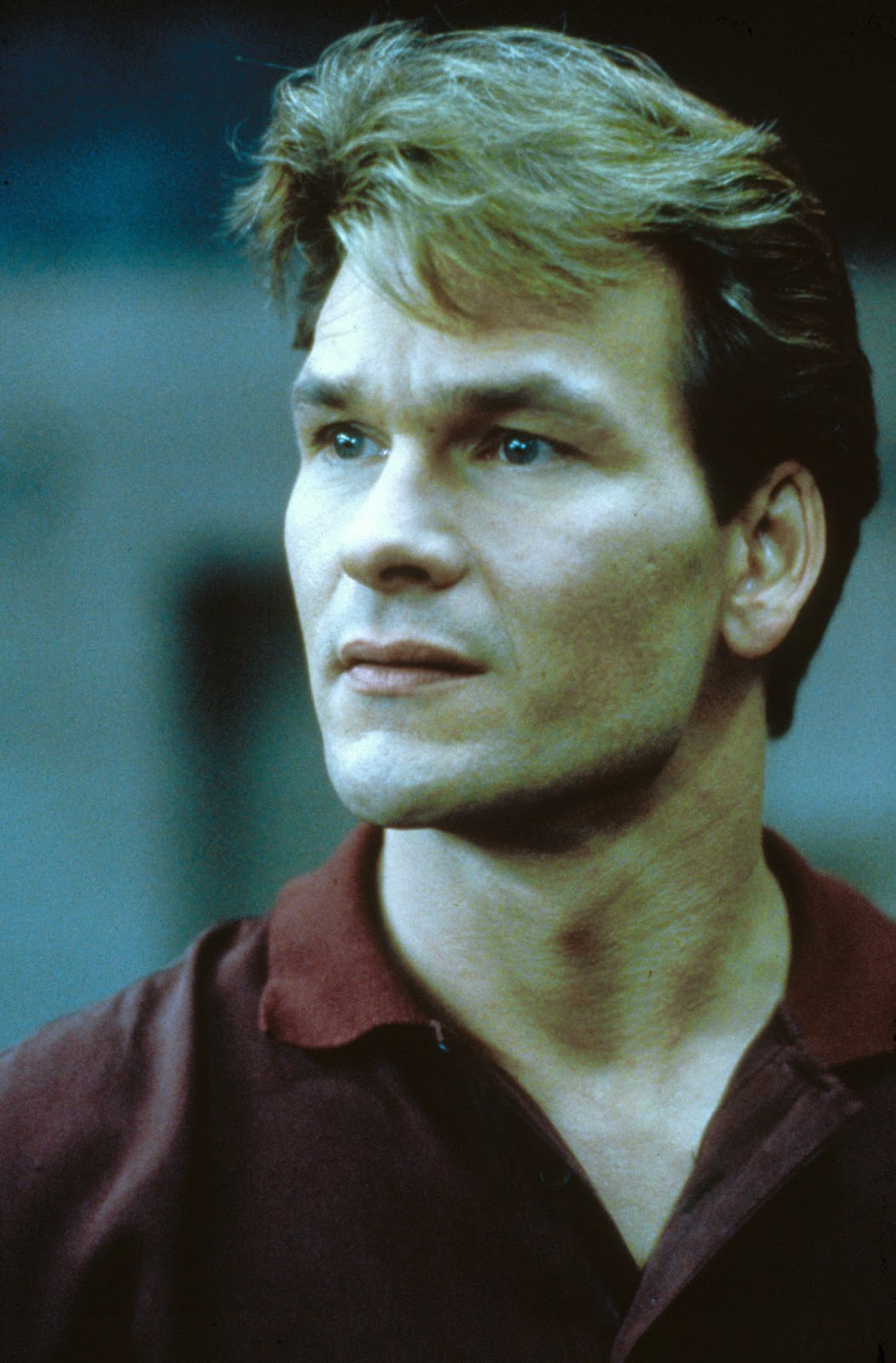Patrick Swayze as the ghost of Sam Wheat.