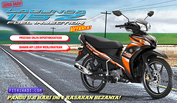 (Gambar) Yamaha Lagenda 115Z Dan 115ZR Fuel Injection Baru