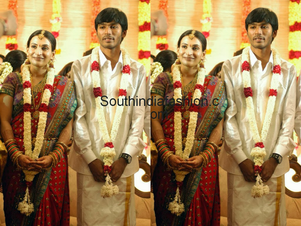 dhanush and ishwarya wedding