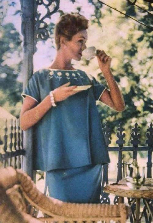 1957 maternity fashion aww