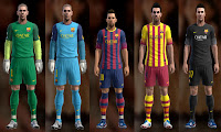 Download New Kits FC Barcelona 2013/2014 | Pro Evolution Soccer 2013