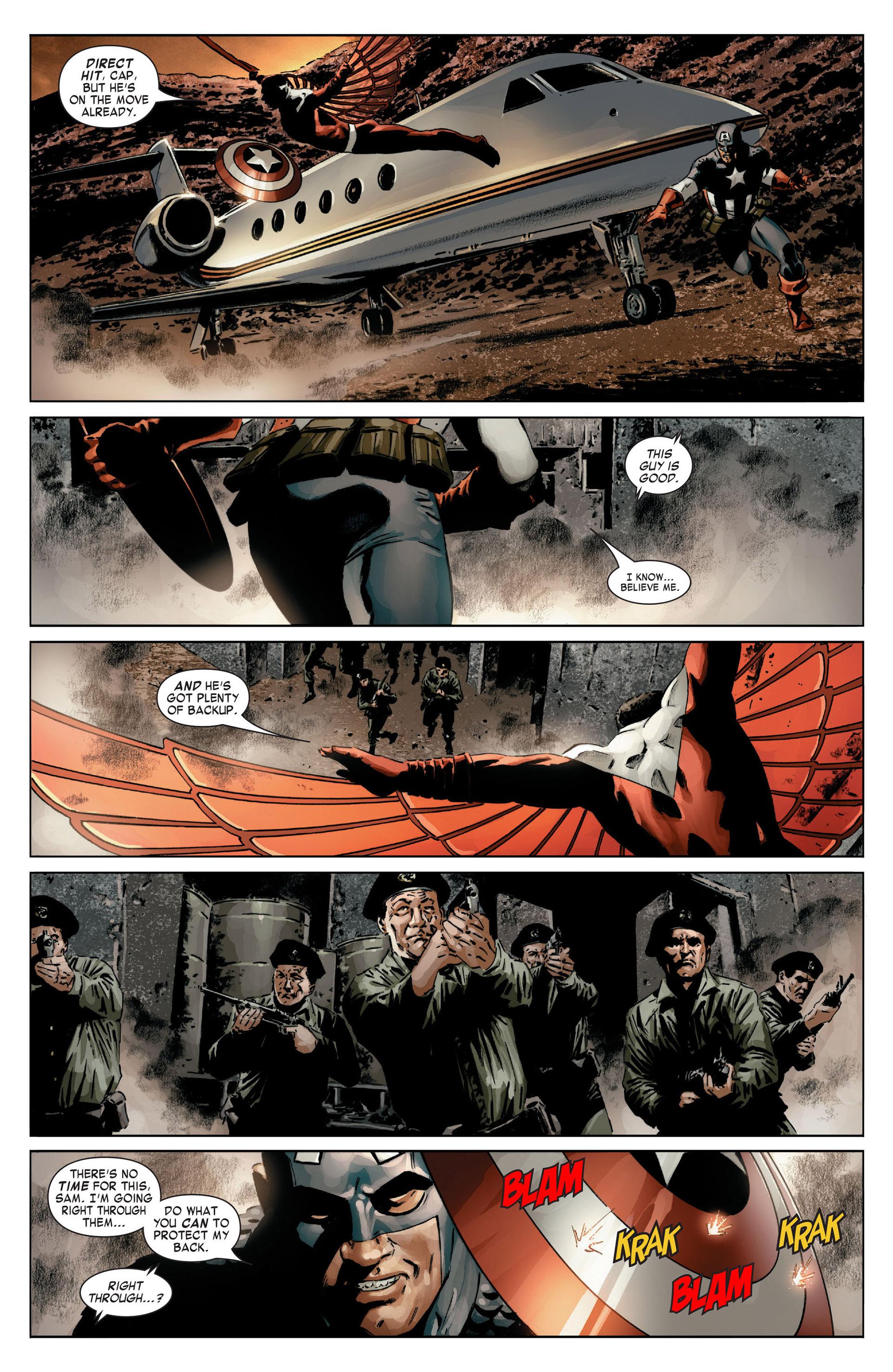 Captain America (2005) Issue #14 #14 - English 6