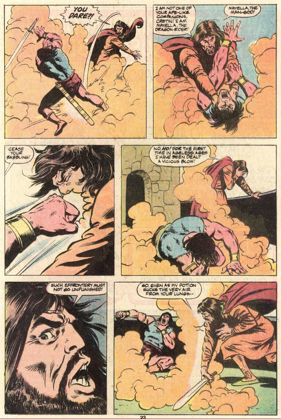 Conan the Barbarian (1970) Issue #124 #136 - English 19