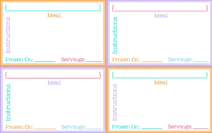 photo regarding Printable Freezer Labels identify Pinch A Small Conserve-A-Good deal: No cost Printable Freezer Labels