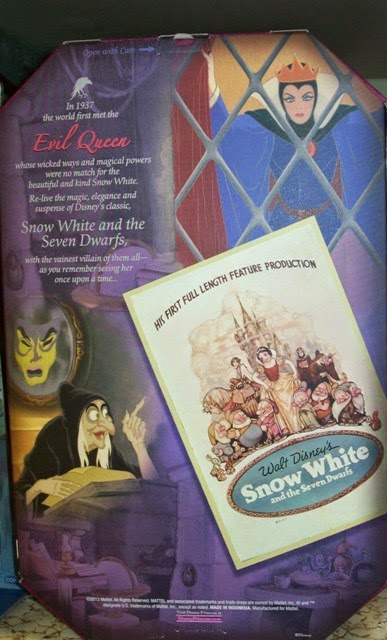 Disney Signature Collection Evil Queen box back