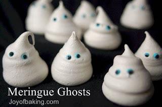 Meringue ghost from Joy Of Baking