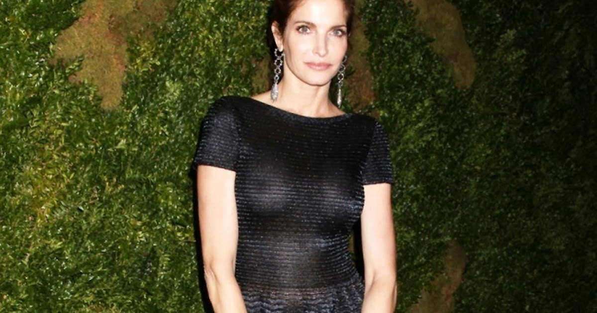 Where you stephanie seymour see through dress this