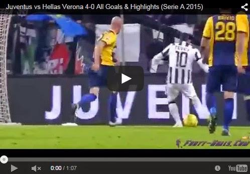 Highlights : Juventus 4-0 Hellas Verona