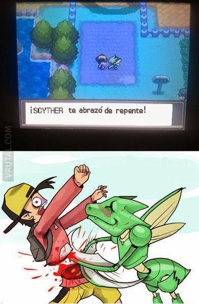 Lógica Pokemon: 'El abrazo de Scyther'
